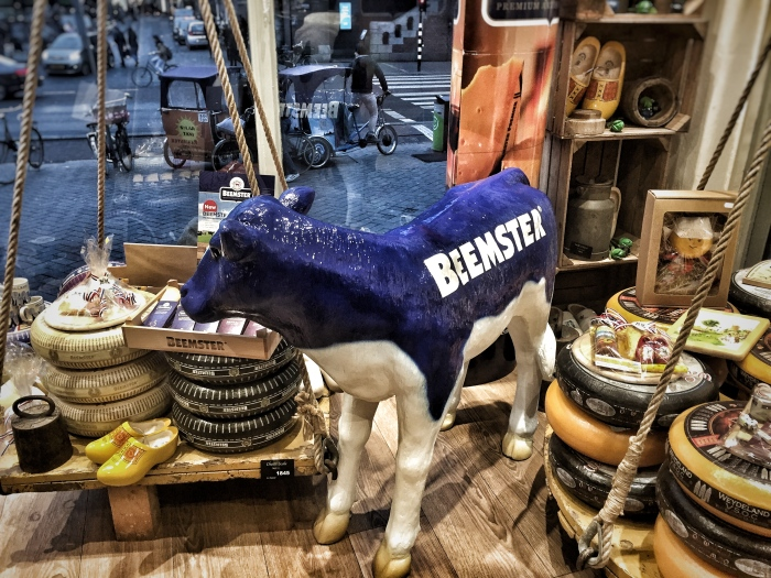 How to visit Amsterdam in two days. With a teenager! And eat lots of cheese!