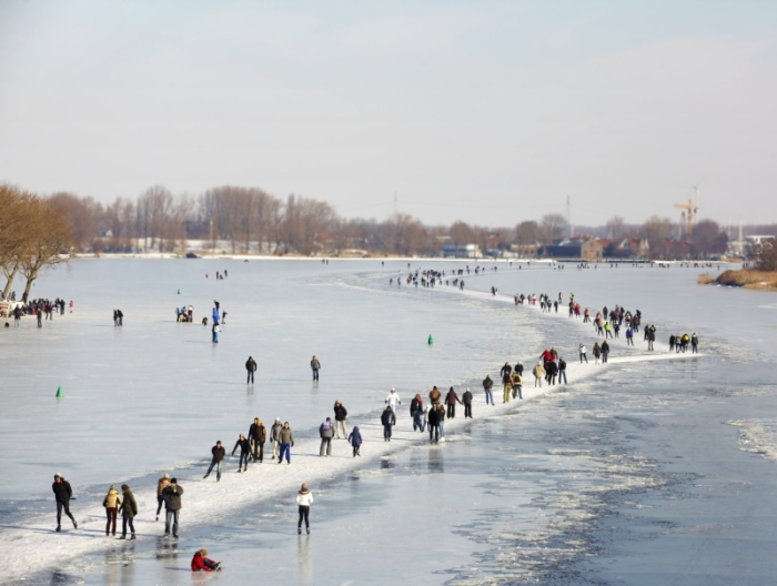 How to visit Amsterdam in two days. With a teenager - Ice-skating galore! @I amsterdam - Hans Guldemond
