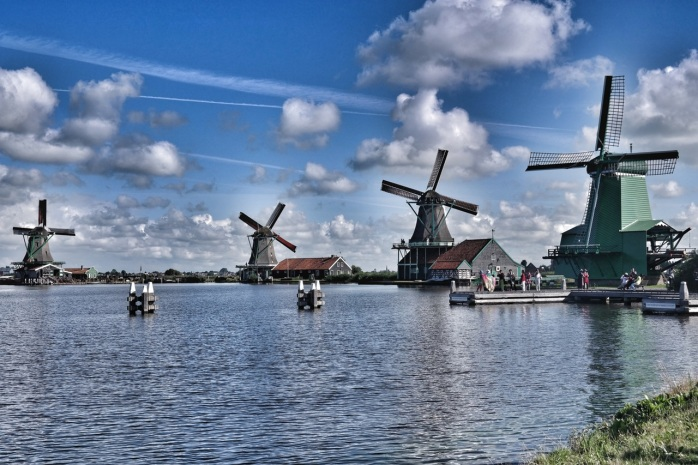The Zaanse Schans has a marvellous collection of well-preserved houses, and historic windmills!