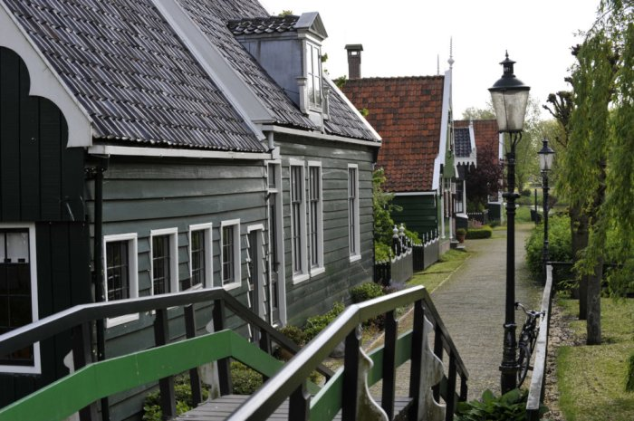 Zaanse houses in Zaandam!