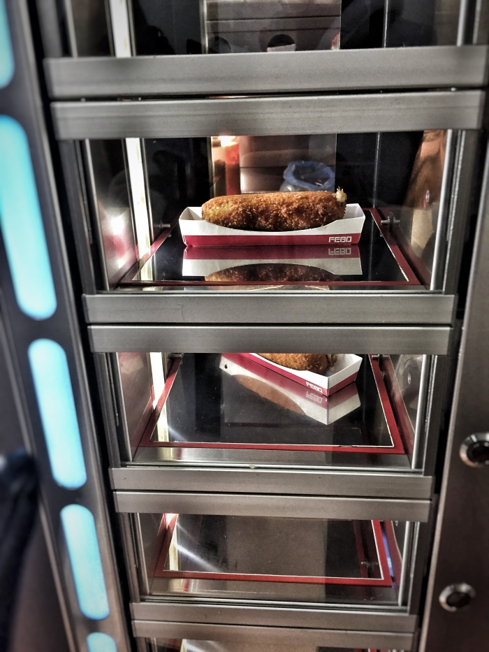Dutch mini-croquettes from a vending machine!