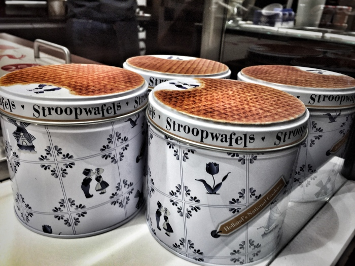 The most popular Dutch dessert is that of the stroopwafel, otherwise known as a waffle!
