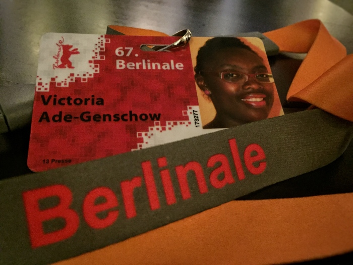 My press pass at the Berlinale.