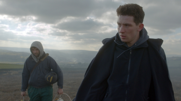 God's Own Country - Alec Secareanu & Josh O'Connor ©Dales Productions Limited The British Film Institute 2017