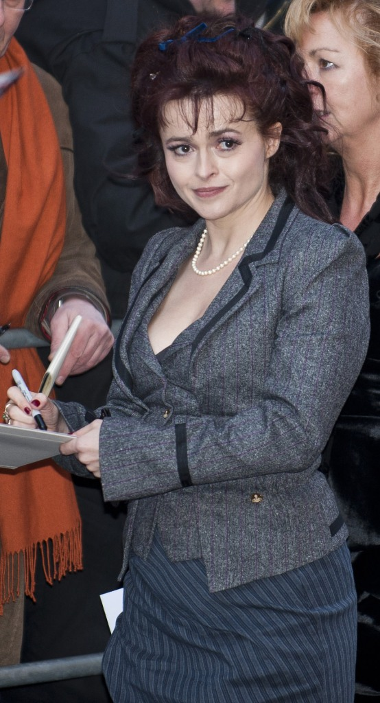 Helena Bonham-Carter sat behind me at the Berlinale,and I hadn't even noticed, until she got up to go to the front of the stage!