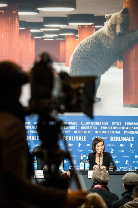 A film industry and press-only conference, at the Berlinale! ©Berlinale