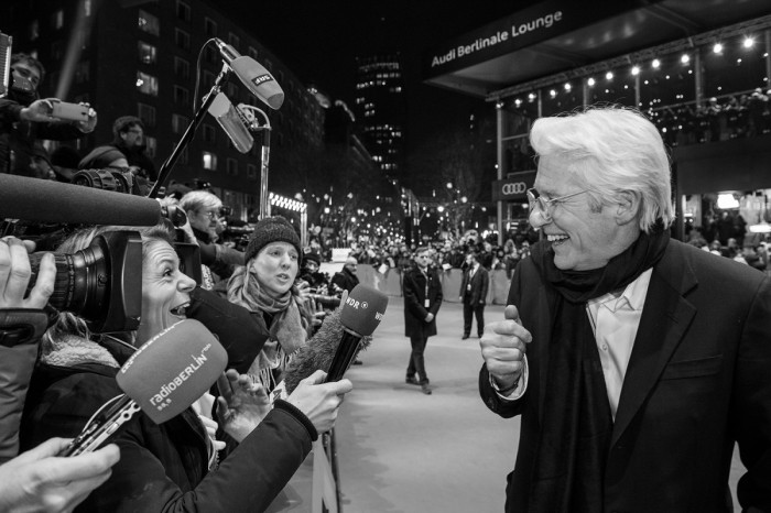 Richard Gere at the Berlinale. Everyone went crazy! ©Berlinale