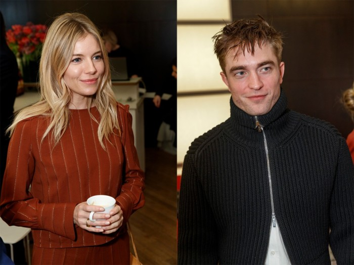 The beautiful Sienna Miller & the gorgeous Robert Pattinson at the Berlinale ©Berlinale