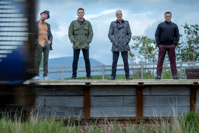 T2 Trainspotting - Ewen Bremner, Ewan McGregor, Jonny Lee Miller & Robert Carlyle © Sony Pictures Releasing GmbH