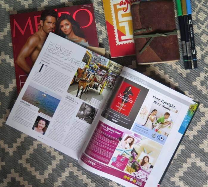 Victoria Ade-Genschow - The British Berliner - Metro Magazine (Annual Body Issue) - April 2017 Edition - the Philippines; Metro Magazine; The British Berliner