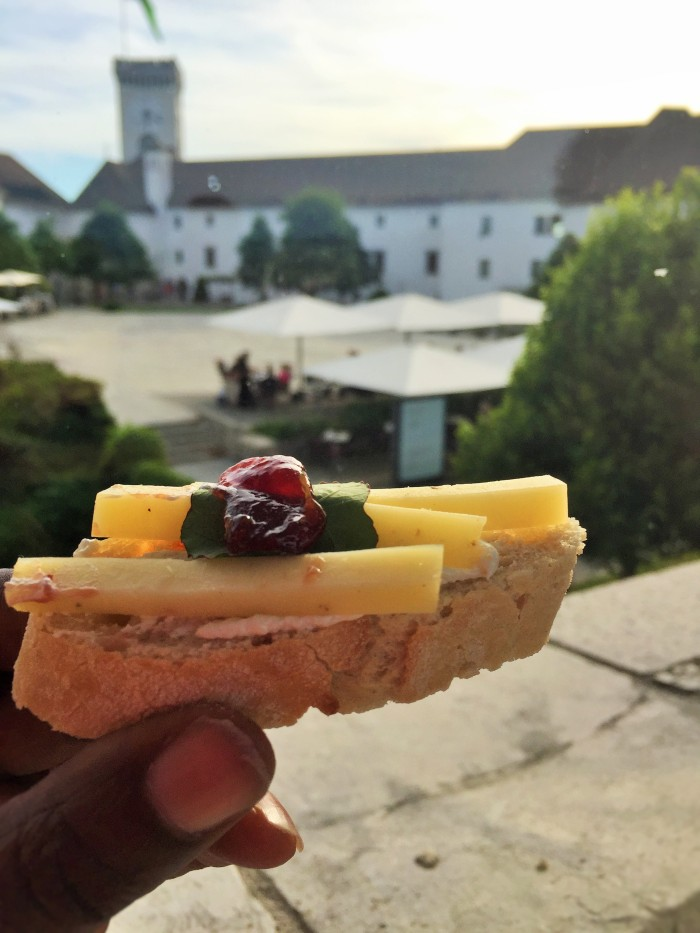 At Ljubljana Castle - A 5 minute introduction to Slovenia!