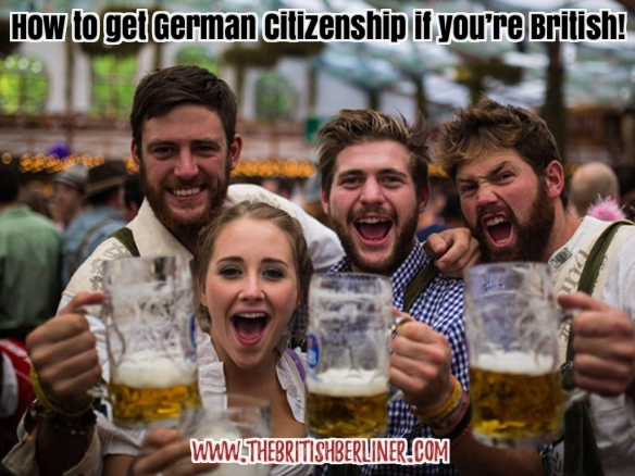 How to get German citizenship if you're British – How to be a German