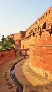 Agra Fort in Agra, Agra Fort; Agra; Fort; India; tourists; tourism; sightseeing; UNESCO site