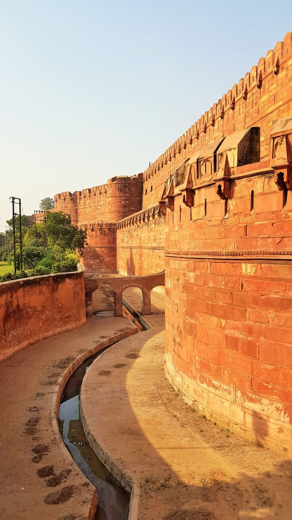 Agra Fort in Agra, Agra Fort; Agra; Fort; India; tourists; tourism; sightseeing; UNESCO site
