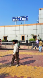 North Central Railway - Agra Cantt train station in Agra, India; North Central Railway; North Central train; North Central train station; North Central; Agra Cantt train station; Agra Cantt train; Agra Cantt station; Agra Cantt; Cantt; taking the train in India; at the railway; Indian train; train; trains in India; Indian railway; train station; railway; Agra; India
