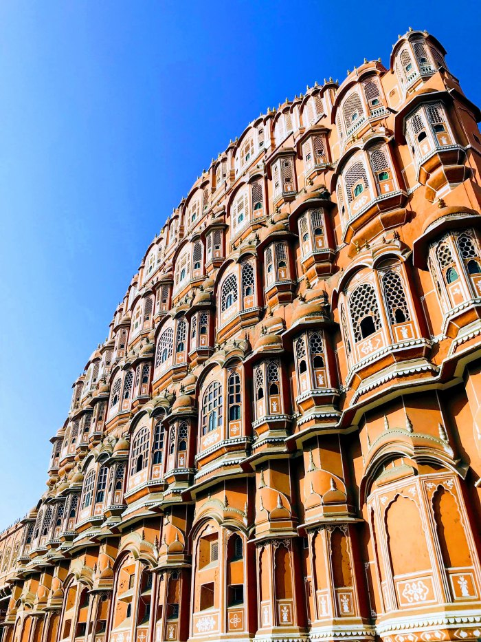 Palace Of The Winds; Windy Palace; Palace; Hawa Mahal; Jaipur; Pink City; Rajasthan; India; Indian