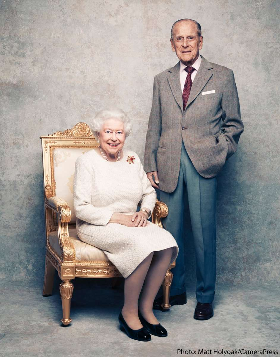 Her Majesty the Queen and His Royal Highness - The Duke of Edinburgh - ©Matt Holyoak / CameraPress