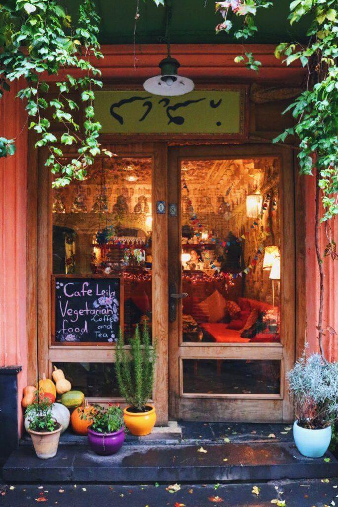 vegetarian cafe; vegetarian; cafe; shop; Georgian shop; Georgian cafe; Tbilisi; Georgia; Georgian; Caucasus; Europe; European; travel
